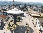 Monumento faz refer�ncia � hist�ria de ET na cidade