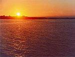 Pôr-do-Sol na ilha Fernandina