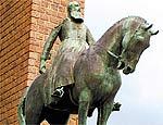 Estátua eqüestre do rei Leopoldo 2º