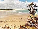 Vista da praia de Tourinhos