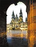 Catedral de Santiago, ponto final da rota