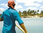Localizada em Jijoca de Jericoacoara, praia fica a 300 km ao norte de Fortaleza