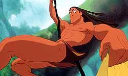 Folha De S Paulo Cinema Tarzan Animado Realiza Sonho De Autor
