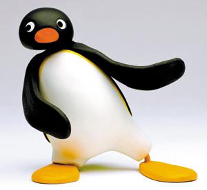 Folha De Spaulo Pingüim Questiona A Tv Politicamente